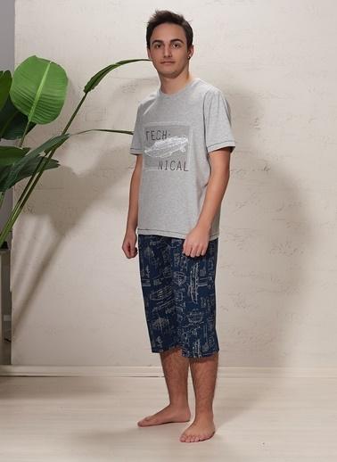 SVM Pijama Takım Gri